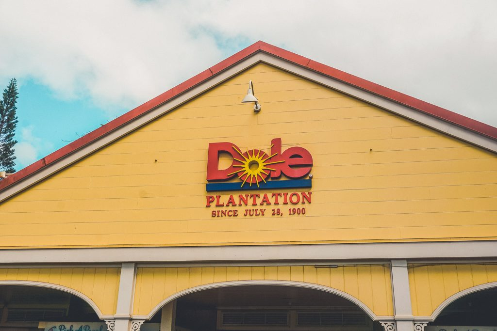 Dole Pinapple Plantation in Oahu