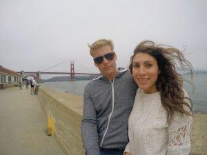 Golden Gate Bridge from Crissy Field