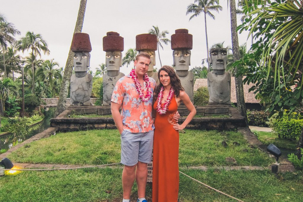 best Luau on the island is at the Polynesian Cultural Center.