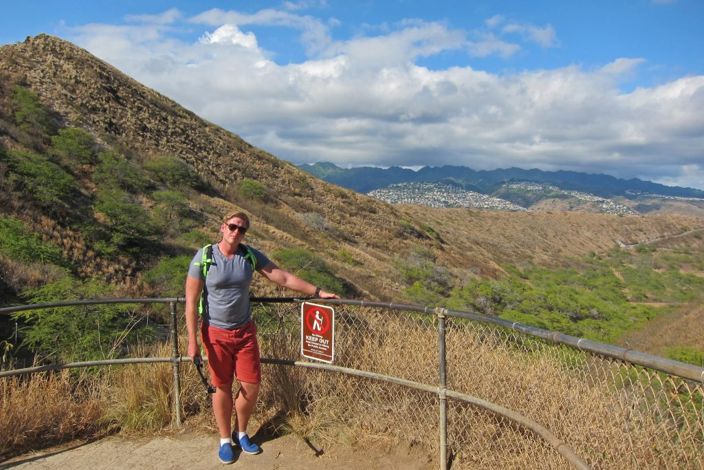 Hiking Diamond Head State Park