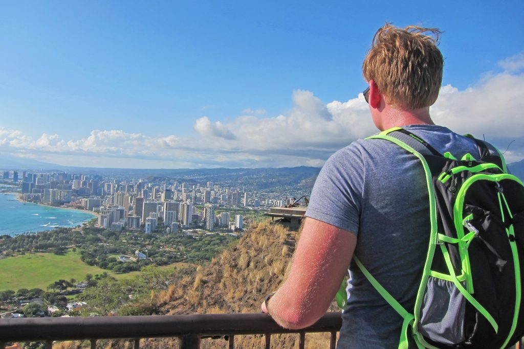 Honolulu viewed from Diamond Head