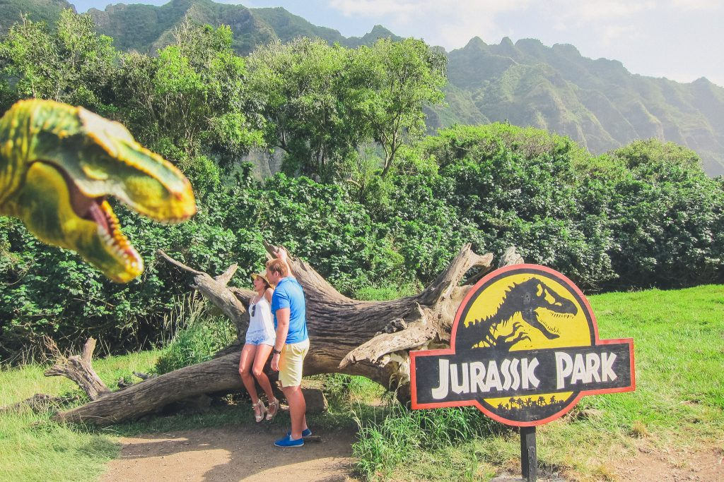 Jurassic Park filming location on Oahu