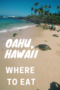 best places to eat in oahu pin