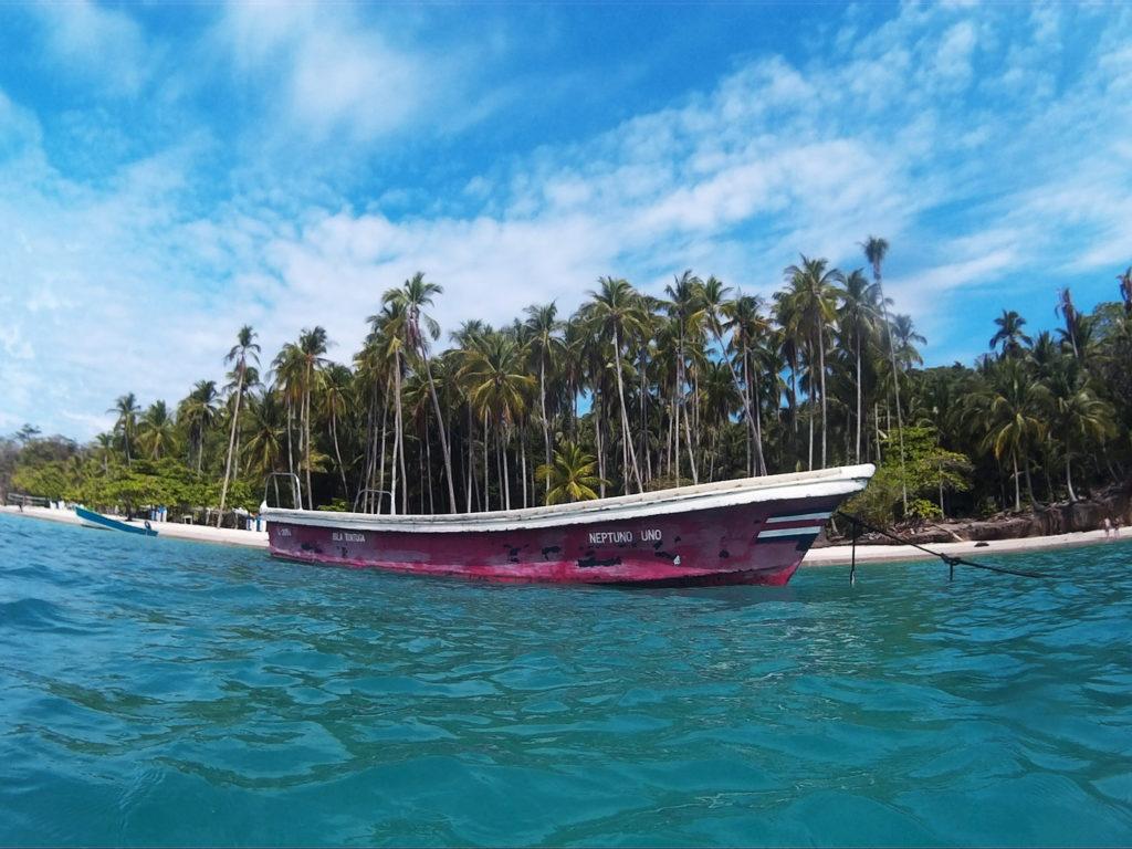 boat tour in Montezuma
