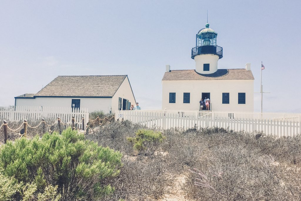 lighthouse at the Cabrillo National Monument