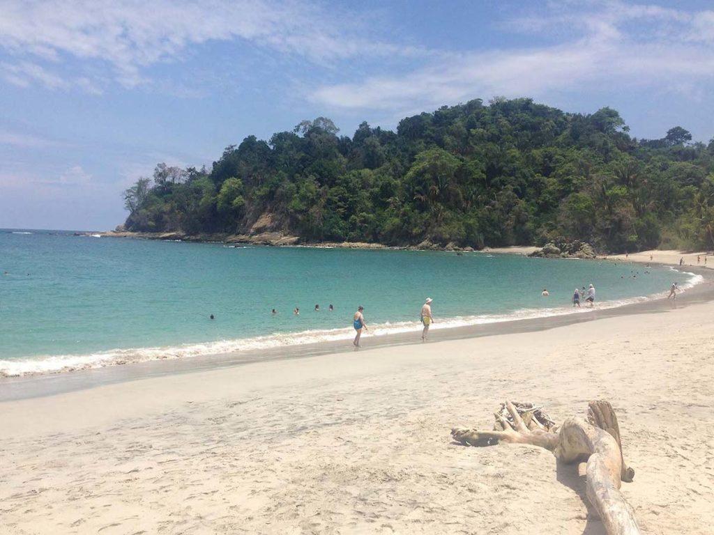 Manuel Antonio in Costa Rica, beach