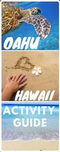 Oahu bucket list adventures pin