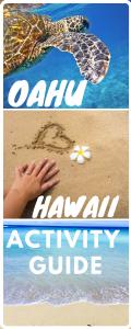 Oahu bucket list adventures pin