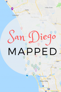 san diego map of attractions