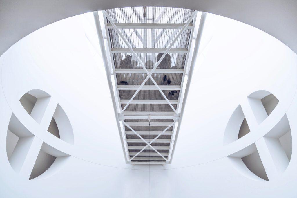 staircase at SFMOMA