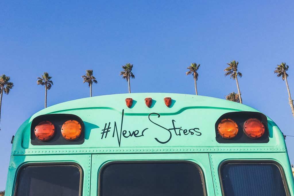 #Never Stress Van in San Diego