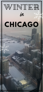 winter in chicago pin