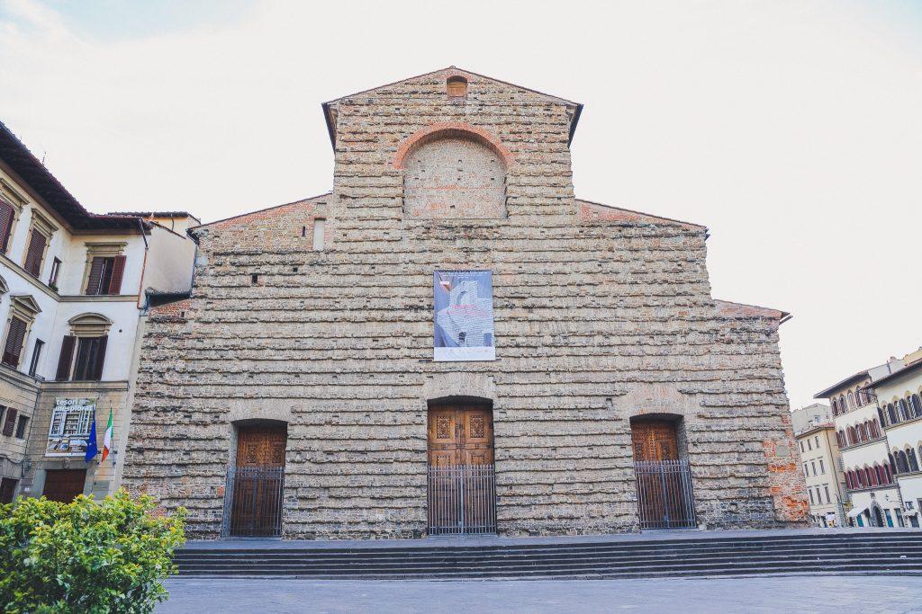 basilica di san lorenzo (basilica of st lawrence) in florence city