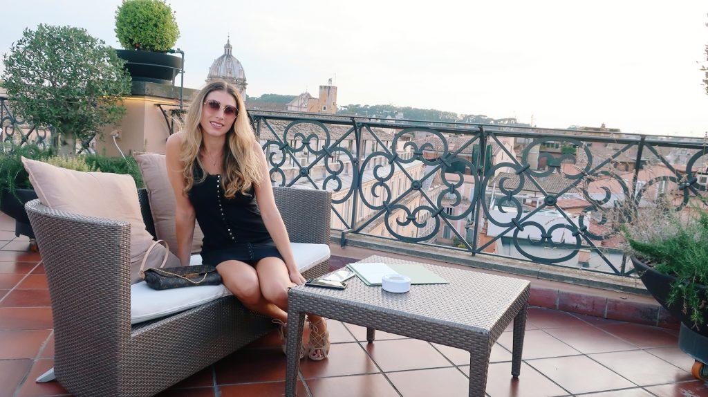 Minerva Roof Gardan Rome