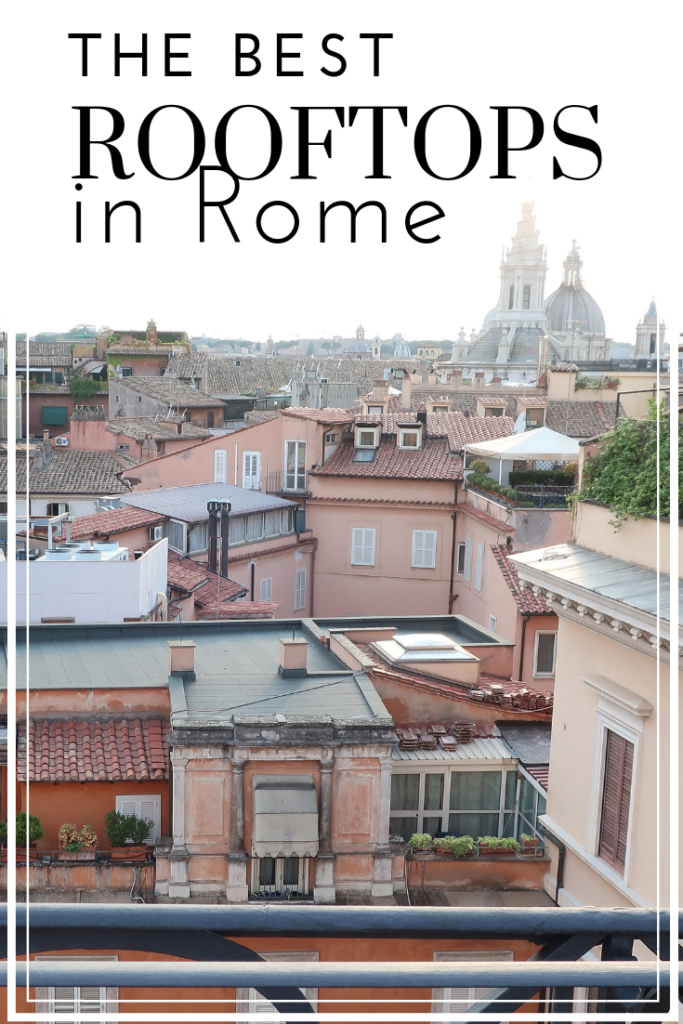 best rooftops in rome pin