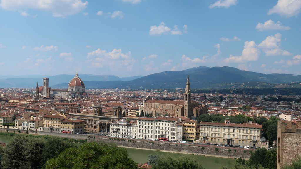 View of Florence from Piazza de Michelangelo