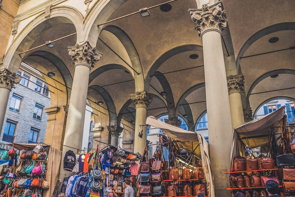 New Market in Florence