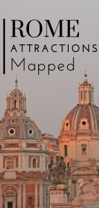walking map of rome pin