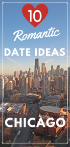 date night ideas in Chicago pin