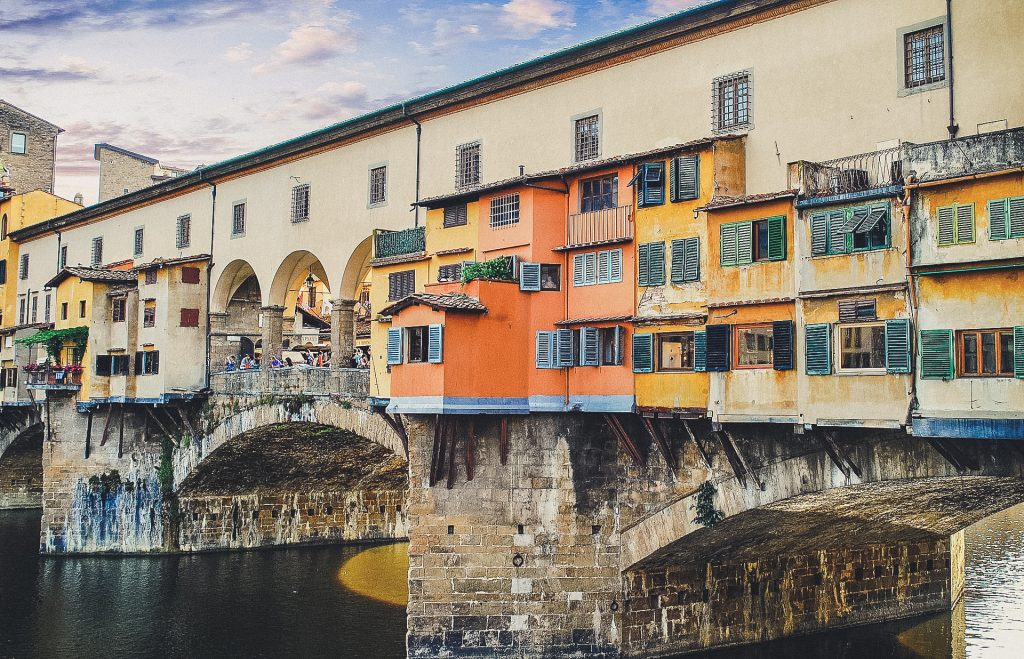 "The ""Old Bridge"" in Florence"