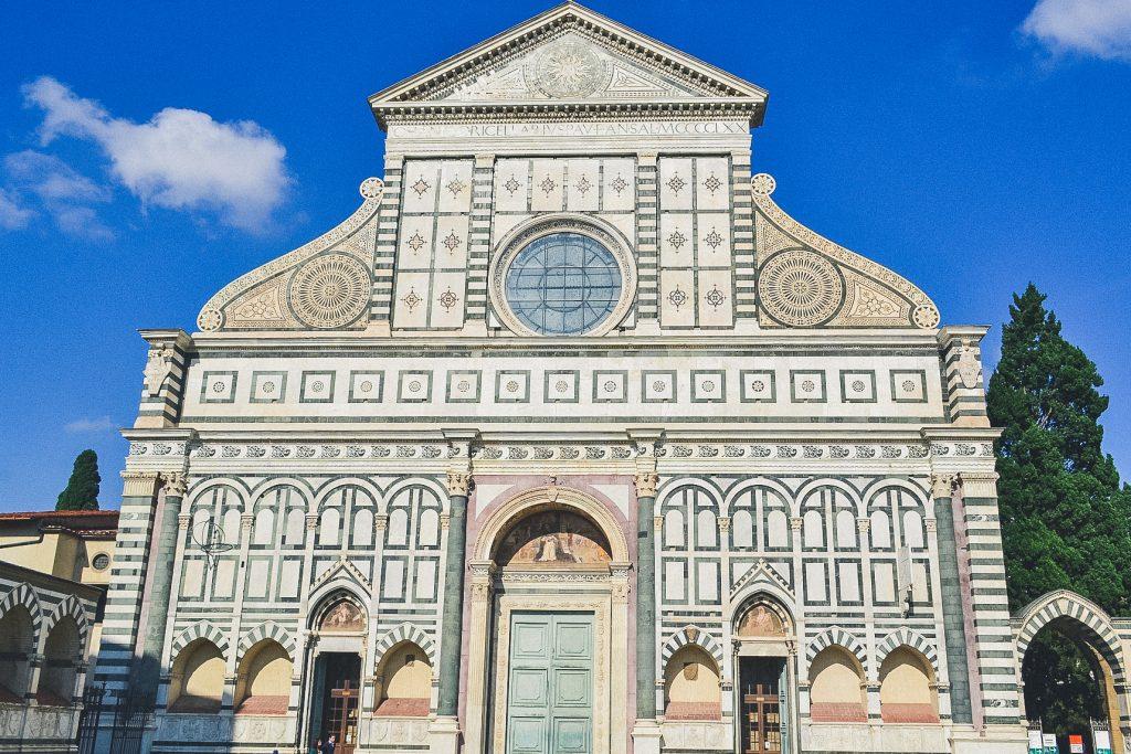 facade of santa maria novella