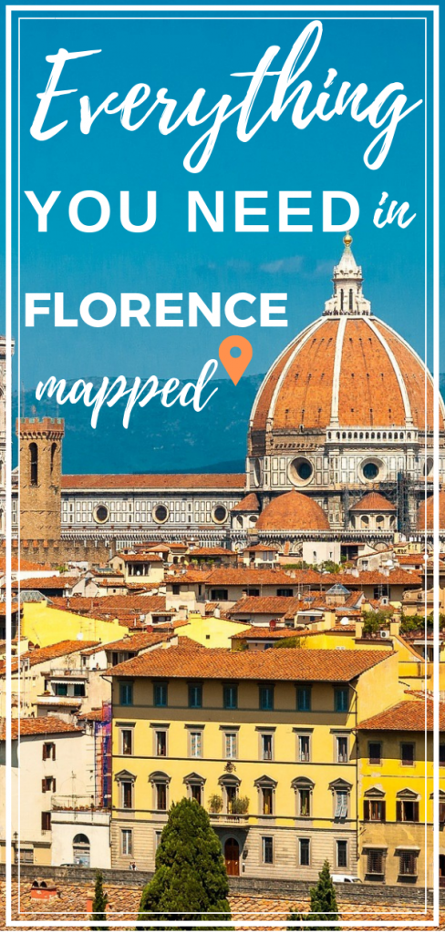 The Ultimate Tourist Map Of Florence Valentina S Destinations