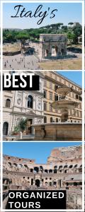 Italy's best tours pin