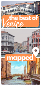 walking tour map of venice pin