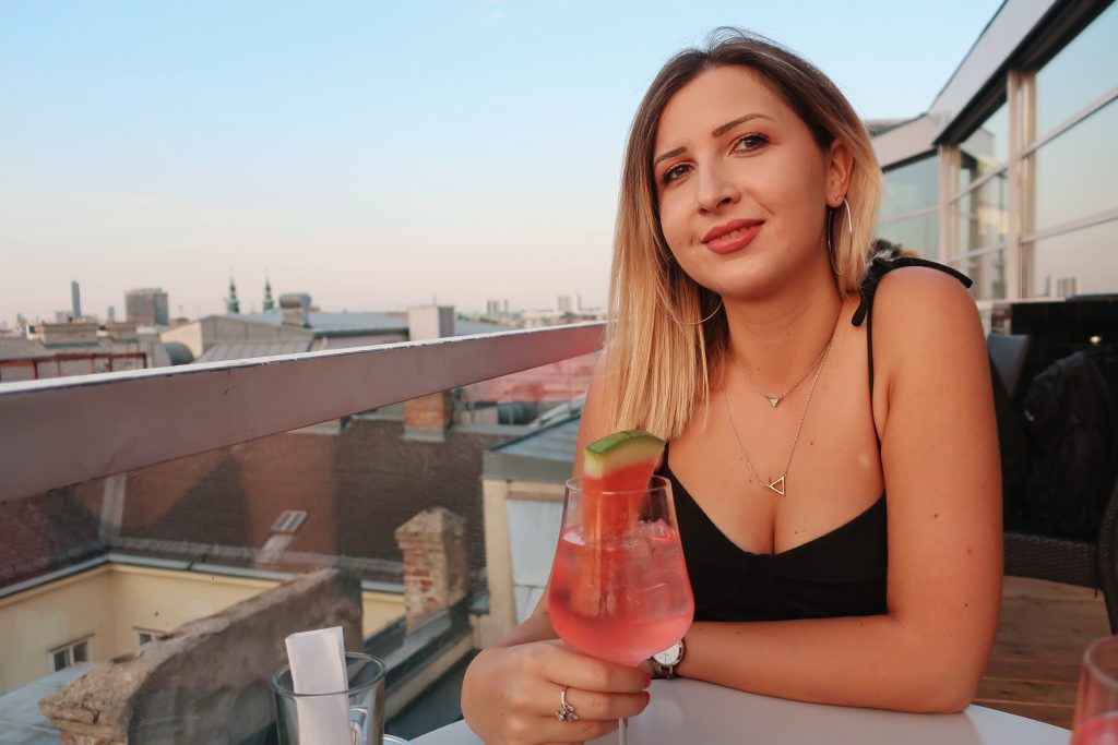 Vienna rooftop bar