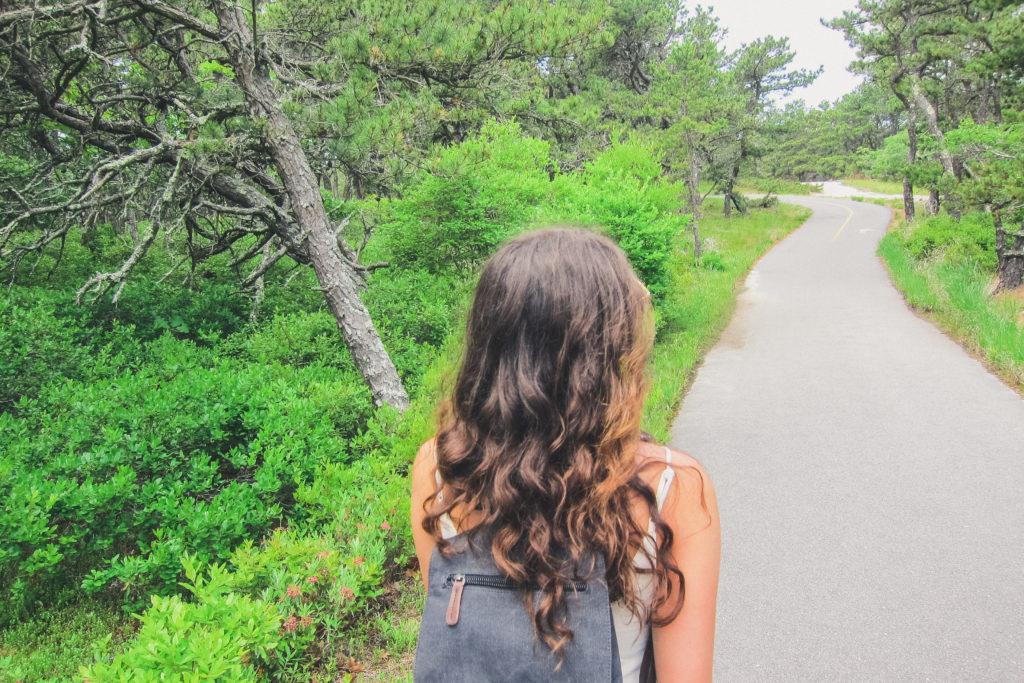 hiking in Cape Cod