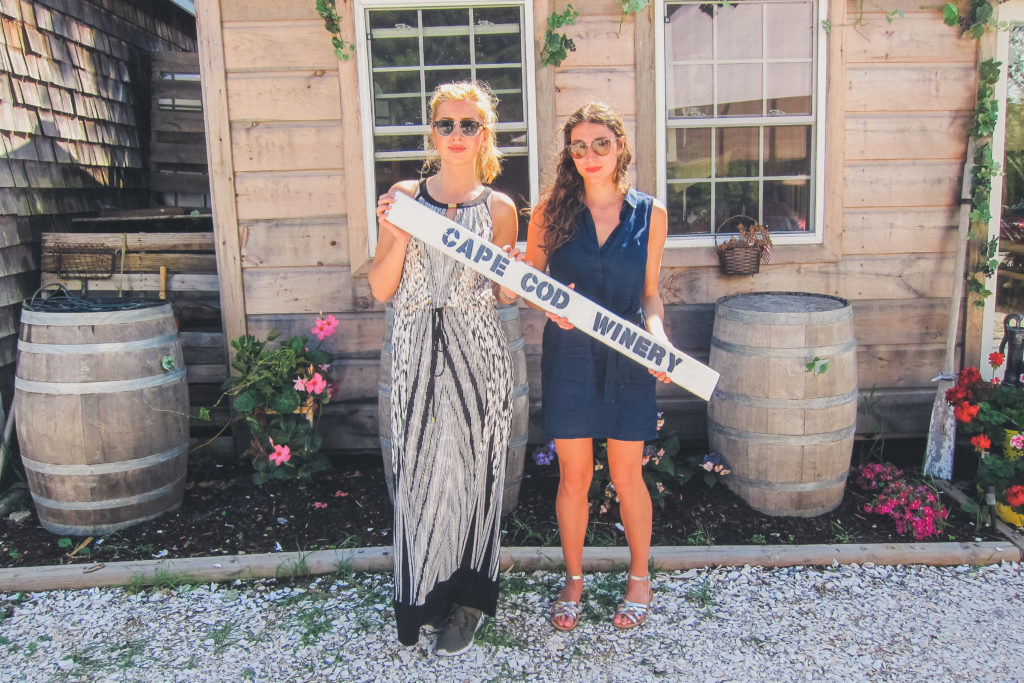two women at Cape Cod Winery