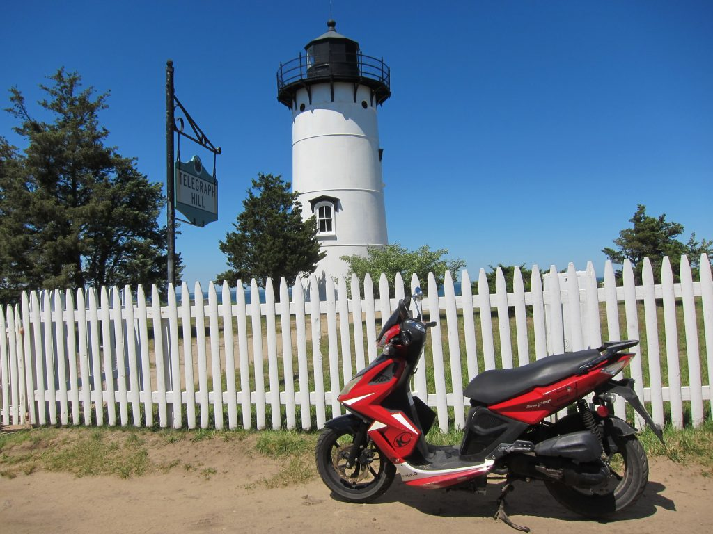 Martha's Vineyard Moped