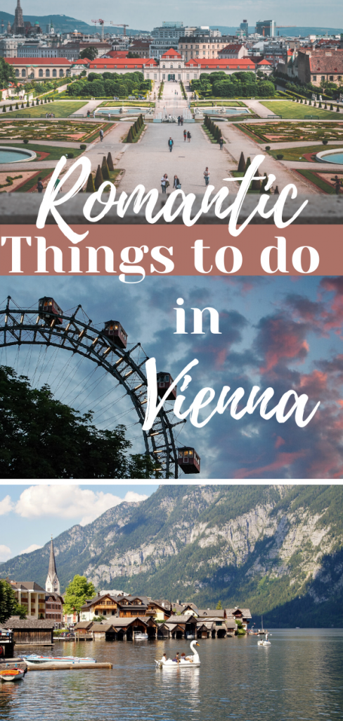 Romantic things to do in Vienna for couples pin