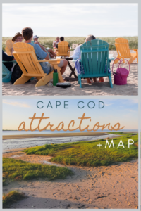 cape cod attractions map pin