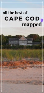 cape cod mapped