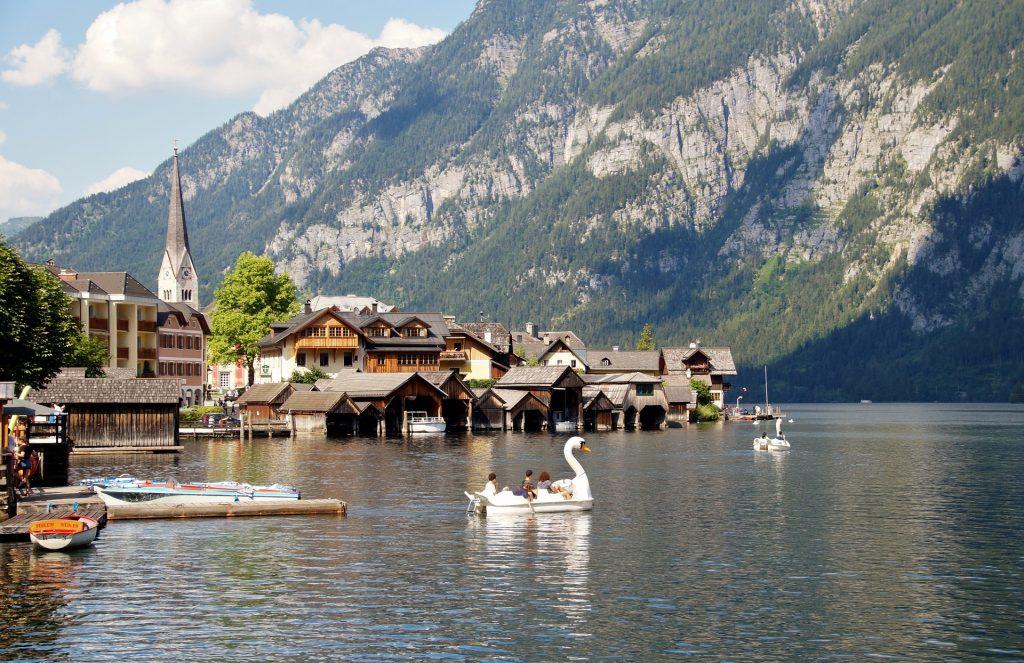 fairy tale village of Hallstatt