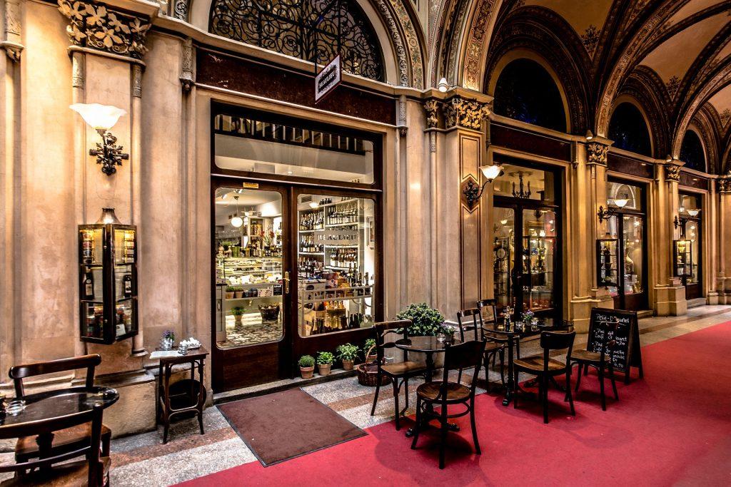 chocolate shop in Vienna