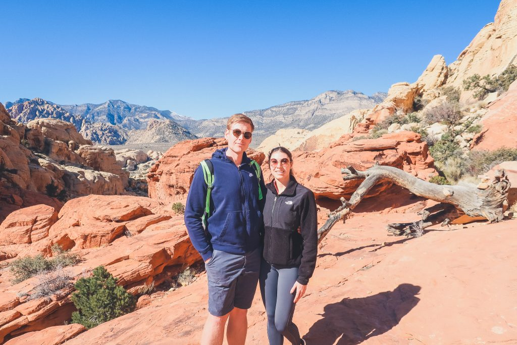 couple at Red Rock state park