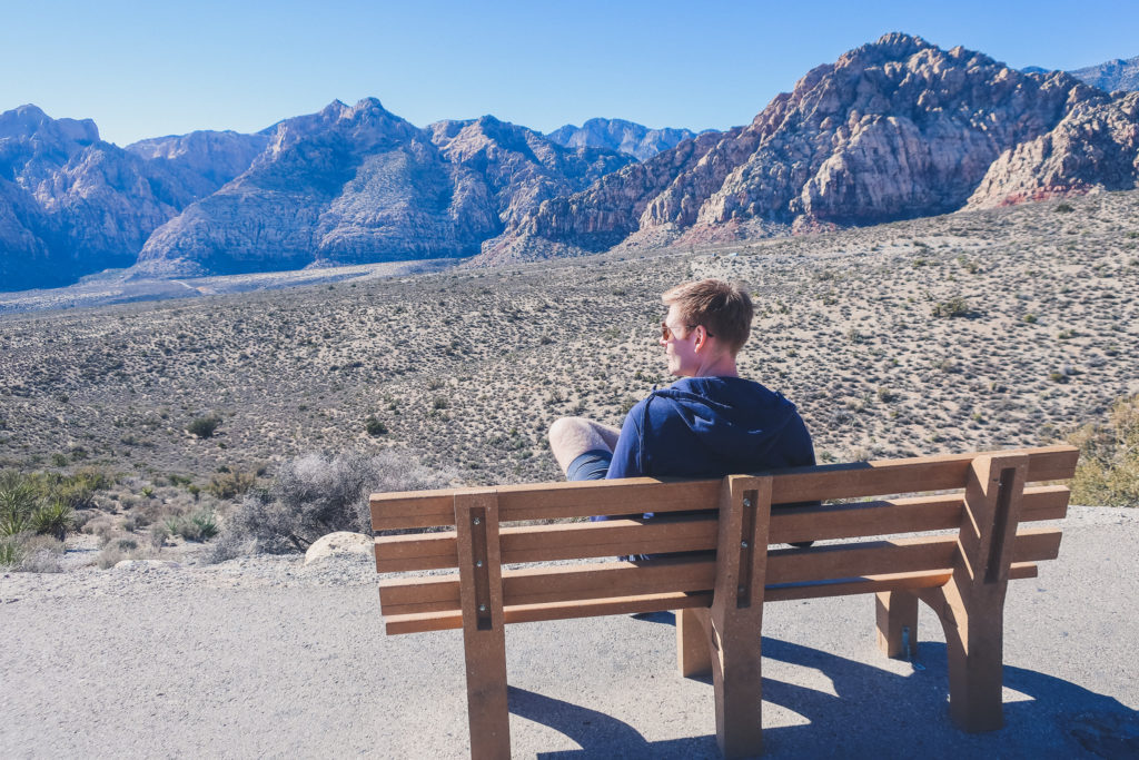 views from Red Rock Canyon scenic lookout