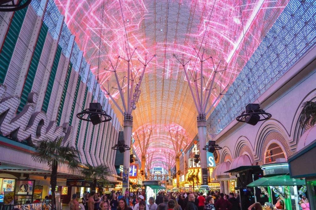 Fremont Street, Viva Vision, Las Vegas