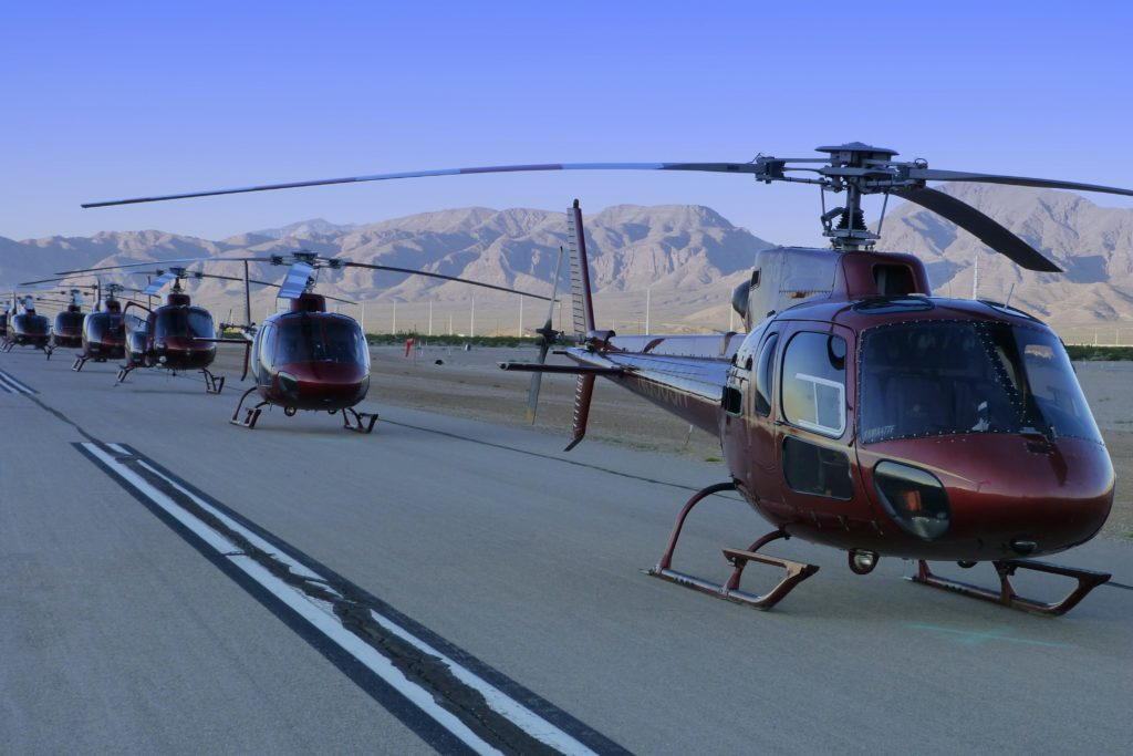 helicopter airport in Las Vegas