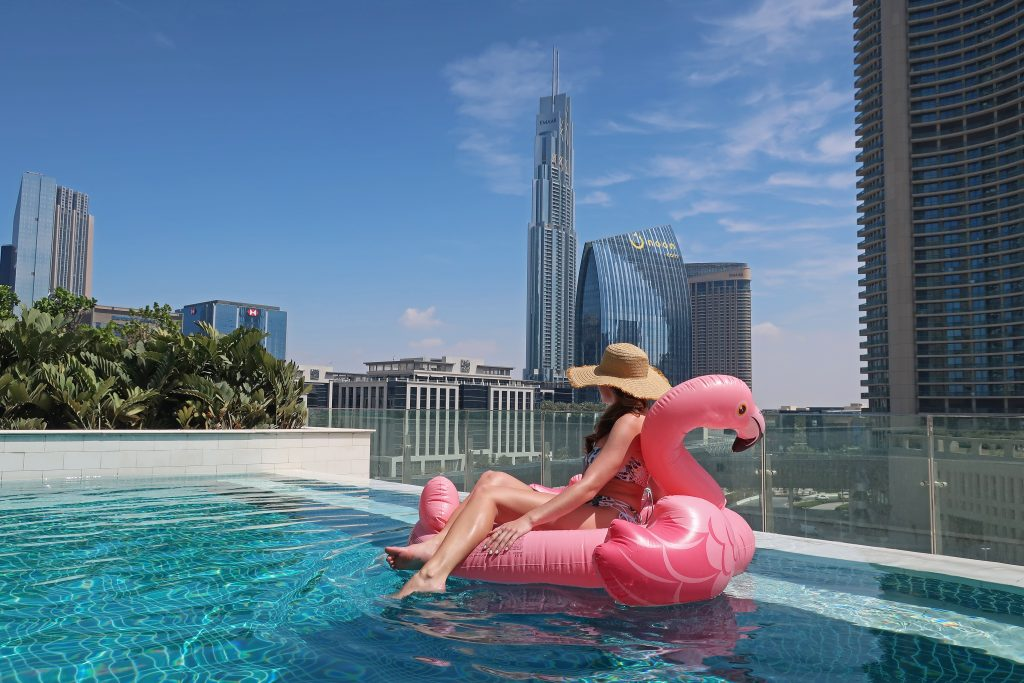 Sofitel Downtown Dubai Pool