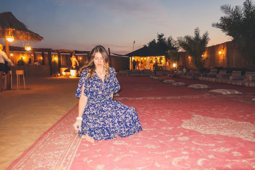 at a dubai desert safari