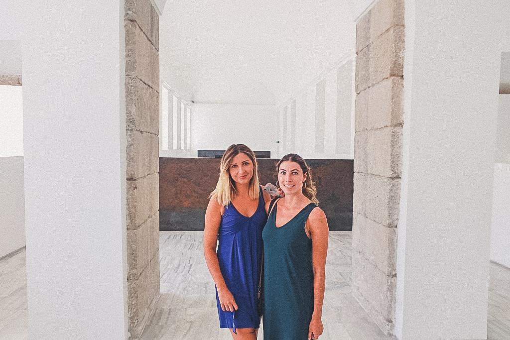 Reina Sofia Museum, two ladies visit