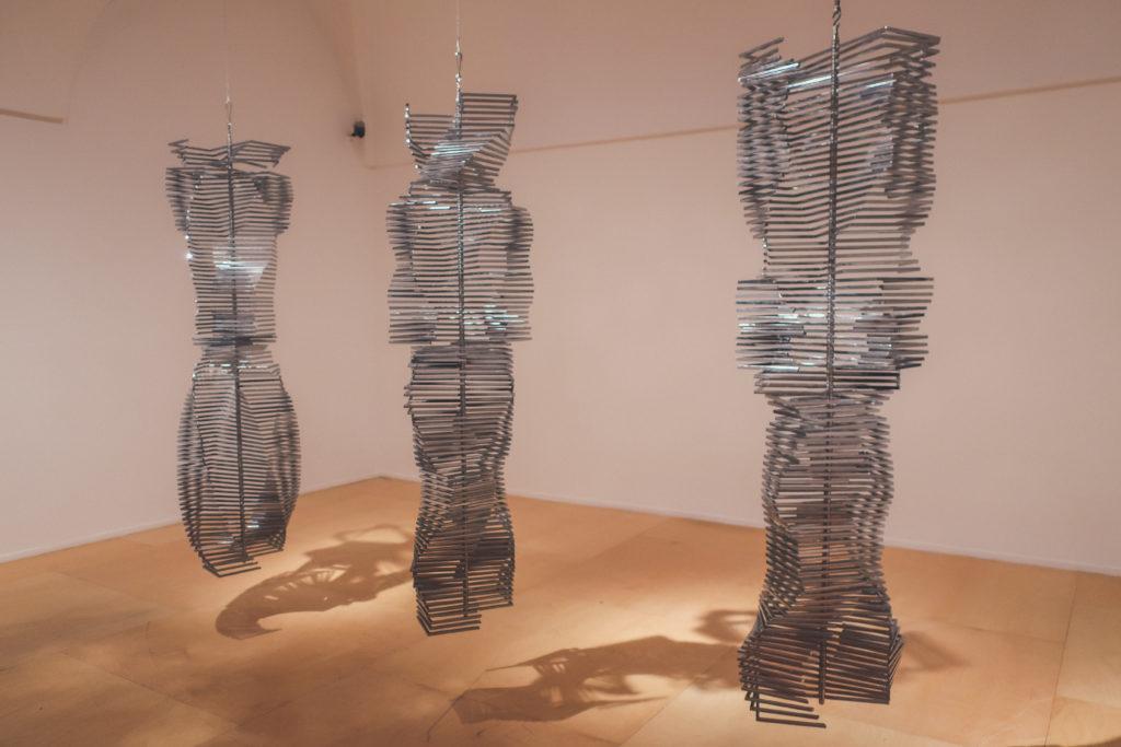 modern exhibit at Reina Sofia