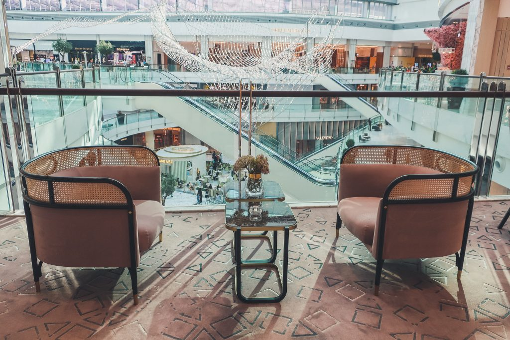 inside the Dubai Mall, glamour