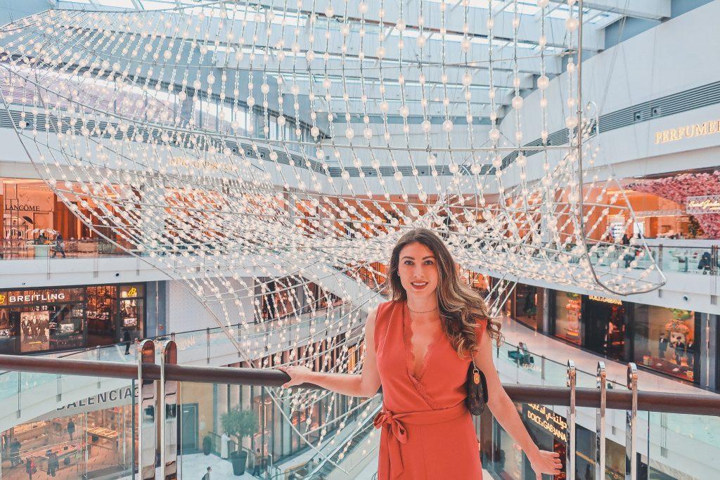 girl at Dubai Mall