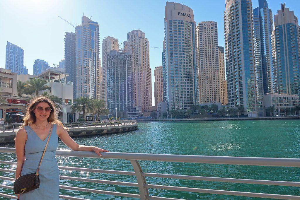 Dubai Marina views