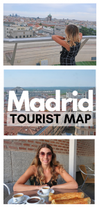 tourist map of madrid pin
