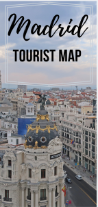 madrid attractions pin